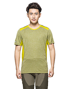 KORAMAN Men's Summer Outdoor Jersey Short Sleeve Printing T-shirt  Breathable Quick-dry