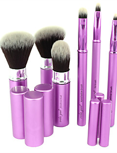 vela.yue® Makeup Brush Set 6pcs Travel Beauty Tools Kit Retractable with Cover
