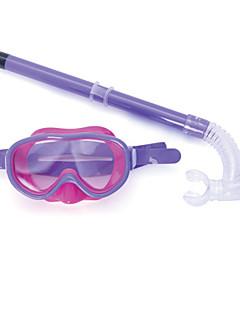 Big Box Child Water Fog Goggles Breathing Tube semi-Dry Snorkel Snorkeling Diving Equipment Glasses