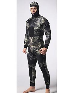 MYLEGEND® Pánské 5mm Mokré obleky plné Wetsuits Voděodolný Zahřívací Nositelný YKK Zipper Nylon neoprén Diving Suit Potápěčské obleky-