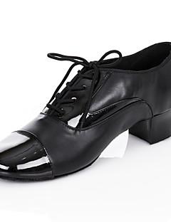 personalizate pantofi de dans de performanță din imitație de piele pantofi latină superioare pentru bărbați