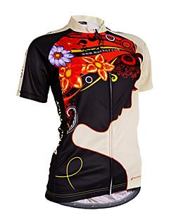 Nuckily Camisa para Ciclismo Mulheres Manga Curta Moto Camisa/Roupas Para Esporte BlusasResistente Raios Ultravioleta Permeável á