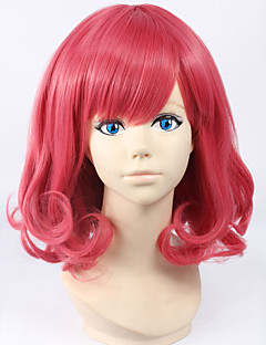 Cosplay Wigs Noragami Cosplay Pink Short Anime Cosplay Wigs 30 CM Heat Resistant Fiber Female