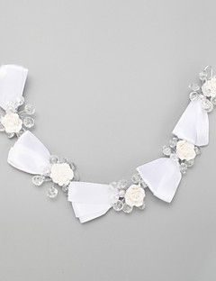 Women's / Flower Girl's Crystal / Alloy / Polyester Headpiece-Wedding / Special Occasion Headbands 1 Piece