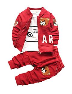 neuer Frühling und Herbst Kindkleidung, Jungen Anzug, Baumwolle, Jungen sanft Kleidung tragen dreiteiligen Anzug