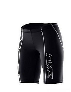 Running Shorts / Compression Clothing / Bottoms Men's Breathable / Compression / Reflective Trim/Fluorescence / Sweat-wicking Nylon
