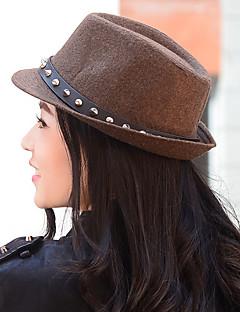 Unisex Male Ms. Rivet Jazz Hat British Retro Woolen Fashion Hat