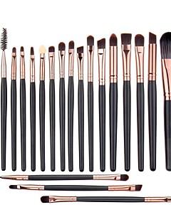 20Conjuntos de pincel / Pincel para Sombra / Pincel de Sombrancelha / Pincel de Eyeliner Liquido / Pincel de Cílio (redonda) / Pincel