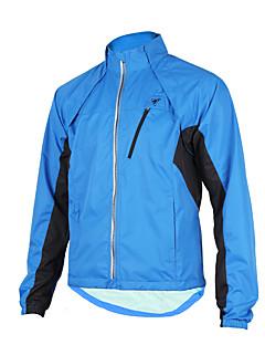 TASDAN® Cyklo bunda Pánské Dlouhé rukávy Jezdit na koleVoděodolný / Prodyšné / Větruvzdorné / Propustnost vůči vlhkosti / Voděodolný zip