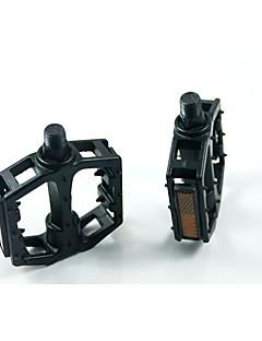 Bicicleta Pedales Otros Otro Negro / plateado aleación de aluminio 1PCS-TOTTA