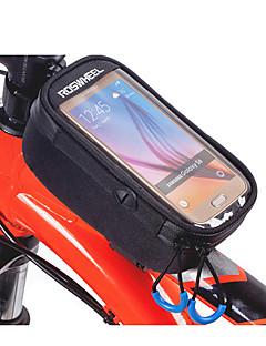 ROSWHEEL® תיק אופניים 1.5Lתיקים למסגרת האופניים רוכסן עמיד למים / עמיד ללחות / חסין זעזועים / ניתן ללבישה תיק אופניים בד / Teryleneתיק