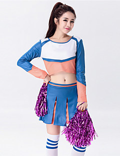 Cheerleader Costumes Outfits Women's Performance Western Style Dance Costumes