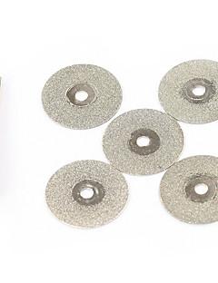 20mm 5pcs יהלום מיני כלי חיתוך דיסקים DREMEL תכשיטים