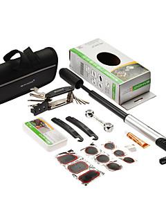 Sahoo 16 în 1 reparații de biciclete de ciclism de anvelope kituri multiple Set de unelte cu mini pompa de instrumente de reparații de