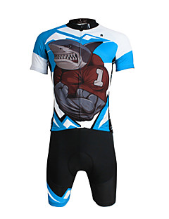 PALADIN® Cycling Jersey with Shorts Men's / Unisex Short Sleeve BikeBreathable / Quick Dry / Ultraviolet Resistant / Compression /