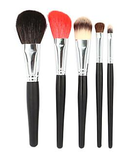 Premium Makeup Brush Set 6pcs Soft Nature Goat Hair Makeup Tools Kit