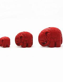 DIY Schmuck Zinnober Elefant Charme