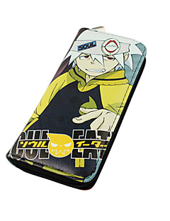 Bag / Wallets Inspired by SoulEater Cosplay Anime Cosplay Accessories Wallet Black Nylon Male / Female