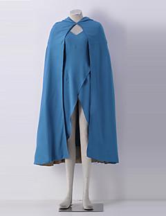 Game Of Thrones Daenerys Targaryen Halloween Costume For Adult Women Blue Pinafore Dress
