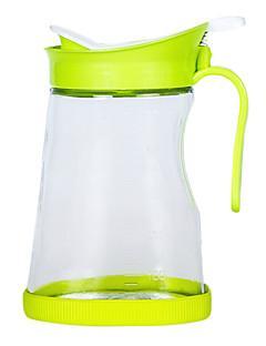 1 Küche Küche Plastik / Glas Ölflaschen 14.5*10*10cm