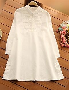 רגיל-בינוני (מדיום)-שרוול ארוך-פשוטה-אימהות-חולצה