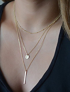 Women's Pendant Necklaces Lariat Y Necklaces Y Shaped Alloy Basic Fashion Costume Jewelry Jewelry For Party Daily Casual