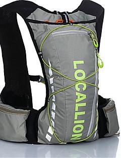 21 L サイクリングバックパック バックパック レジャースポーツ サイクリング/バイク キャンピング&ハイキング 旅行 反射ストリップ 防水 防塵 耐久性 高通気性 横滑り防止 多機能の ナイロン テリレン Outdoor LOCAL LION