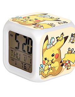 Clock/Watch Inspired by Pocket Monster PIKA PIKA Anime Cosplay Accessories Clock/Watch Yellow Resin Male / Female