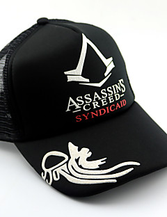 Hat/Cap Inspired by Assassin's Creed Connor Anime/ Video Games Cosplay Accessories Cap / Hat Black Cotton Male