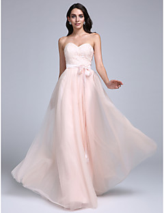 TS Couture Prom Formal Evening Dress - Elegant A-line Sweetheart Floor-length Lace Tulle with Lace