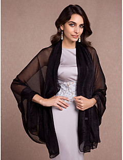 Women's Wrap Shawls Sleeveless Rayon More Colors Wedding / Party/Evening / Casual