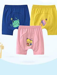 Baby Shorts Silke Ensfarvet Casual/hverdag Sommer