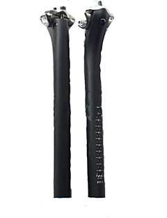 Moto Guiador Bicicleta De Montanha/BTT Durável / Ergonômico / Anti-Derrapante Preta Fibra de Carbono 2-none