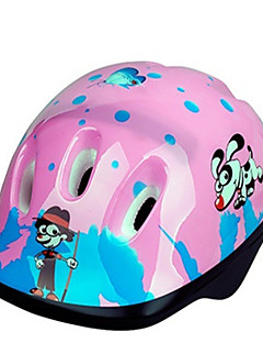 Unisex Sports Bike helmet 6 Vents Cycling Cycling / Skate Small: 51-55cm EPS / PVC Pink Blue