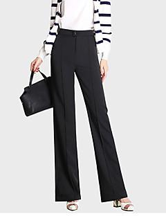 Street chic-Polyester-Micro-elastisch-Kostuum-Broek-Vrouwen