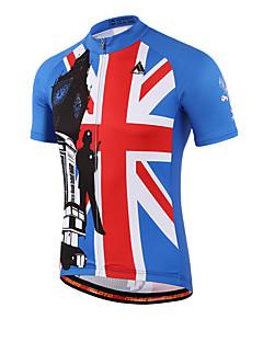 Miloto Cycling Jersey Women's Men's Kid's Unisex Short Sleeve Bike Shirt Sweatshirt JerseyQuick Dry Front Zipper Breathable Soft YKK