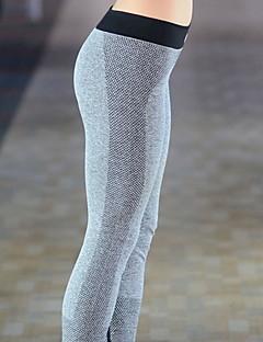 Yoga Pants Pants/Trousers/Overtrousers Breathable Compression Natural Stretchy Sports Wear Black Women's Yoga
