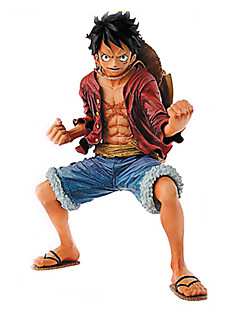 One Piece Monkey D. Luffy 18CM Anime Action Figures Model Legetøj Doll Toy