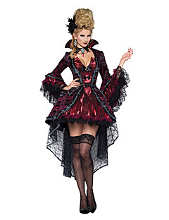 Cosplay Costumes/Party Costumes Ghost / Zombie / Vampires Halloween / Christmas / Carnival Red / Black Vintage Dress Halloween/Christmas/New Year