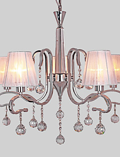 Chandelier ,  Modern/Contemporary Electroplated Feature for Crystal Metal Living Room Study Room/Office