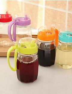 1 Küche Küche Plastik / Glas Ölflaschen 8*10*17cm