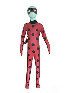 Ladybird Zentai / Children's Clothing Ladybug Body / cosplay Anime Costumes Zentai Leotard Perform Performing Service