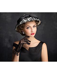 Donne Pizzo / Lino / A rete Copricapo-All'aperto Cappelli 1 pezzo