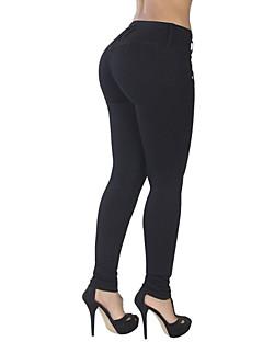 Women Solid Color Legging,Firm Non-woven Cotton