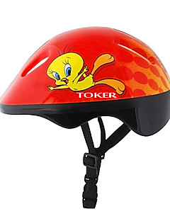 Kid's Bike Helmet 6 Vents Cycling Cycling / Recreational Cycling / Ice Skate EPS / PVC Red
