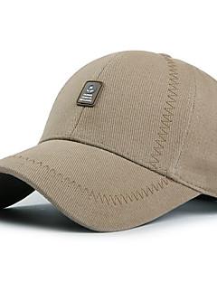 Chapéu Resistente Raios Ultravioleta Unissexo Basebal Verão Cinza Escuro Preto Azul Escuro Verde Militar Café Claro-Esportivo®