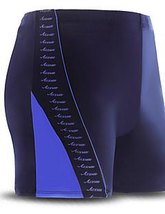 בגדי ריקוד גברים נושם אלסטיין Chinlon חליפת צלילה בגדי ים-שחייה קלאסי