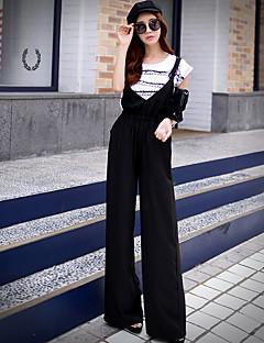 pink doll naisten vankka chinos housut, yksinkertainen / hienostunut
