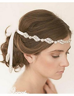Mulheres Tecido Capacete-Casamento Bandanas 1 Peça Branco Redonde 48cm