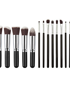 13Pennello per cipria / Pennello per ombretto / Pennello per labbra / Pennello sopracciglia / Pennello applicatore per eyeliner /